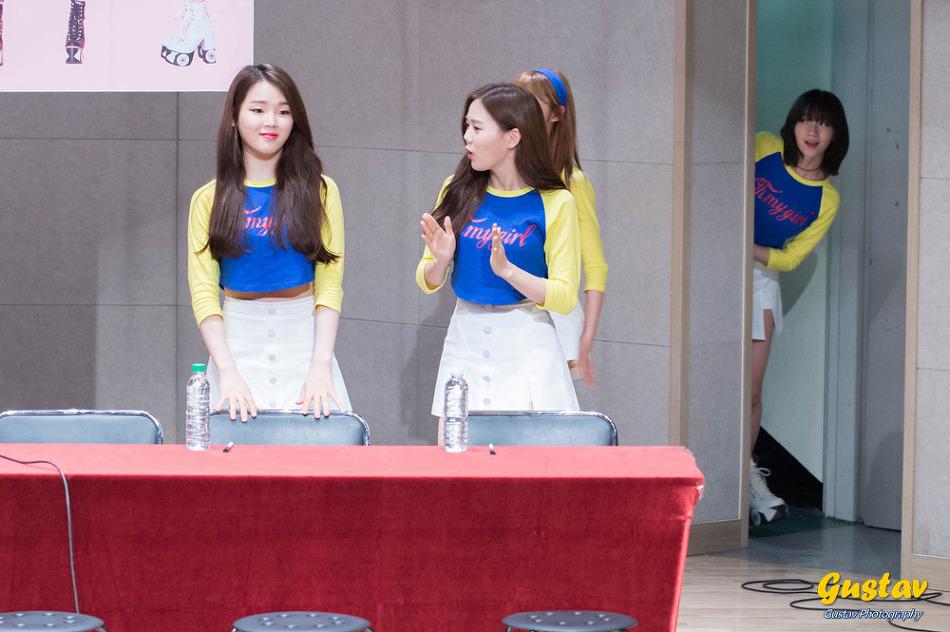 160417 오마이걸 라이어 라이어 용산 팬사인회 part 1