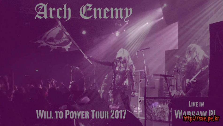 Arch Enemy - Live at Aurora