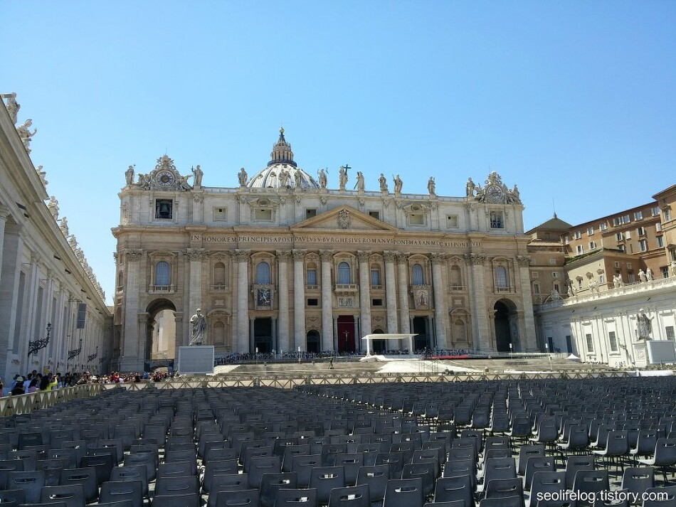 [유럽 '자동차 순례' 여행] Part 3: 바티칸시티