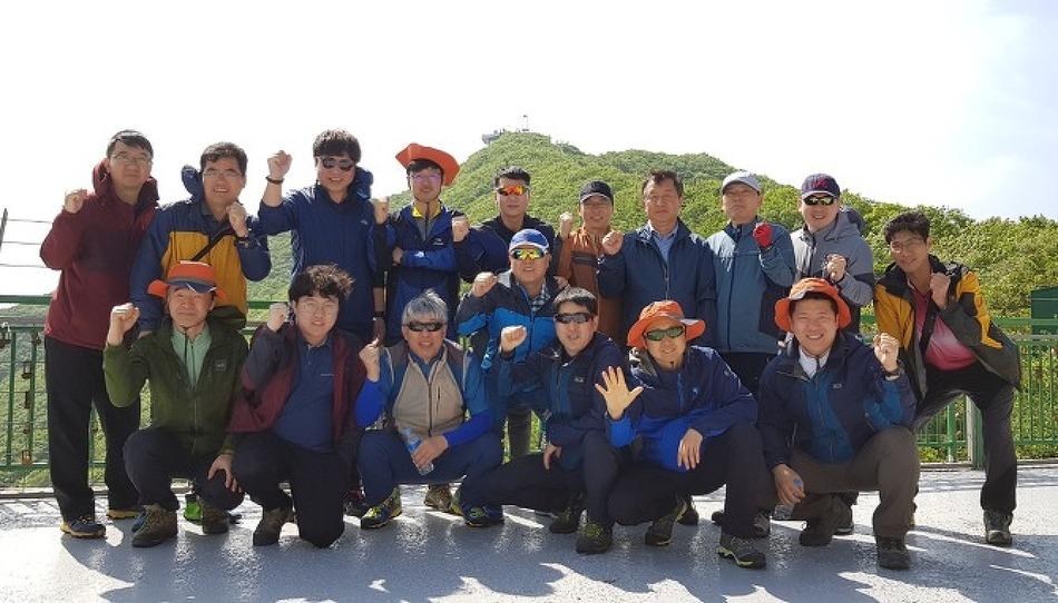 한화토탈 산악동호회와 함께한 여름 산행!