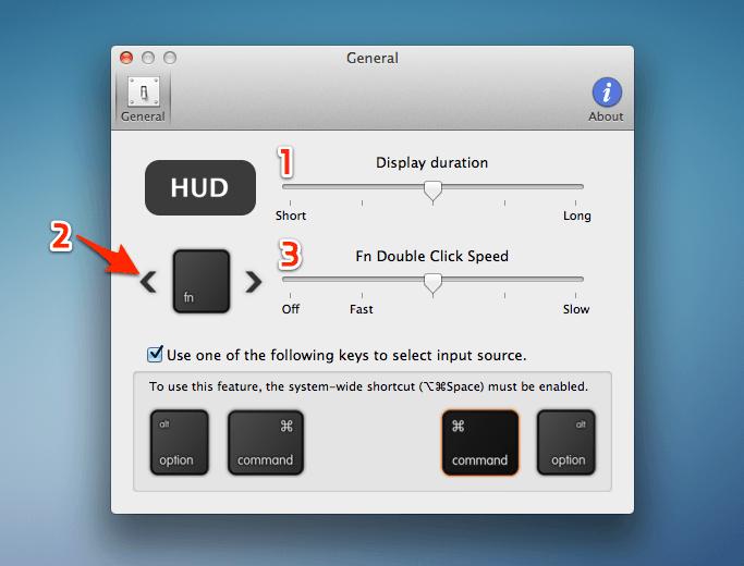 맥에서 한글/영문 입력 상태를 간편하게 확인하고 변경할 수 있는 'isHUD'