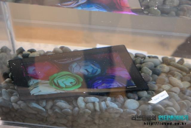 소니, 엑스페리아, 태블릿Z, 엑스페리아 태블릿Z, 태블릿PC, 태블릿, 방수, 잠수
