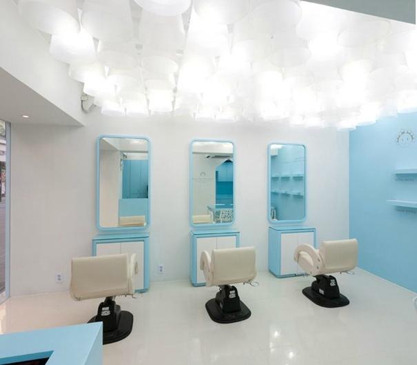 Salon design ideas for small spaces joy studio design for Salon open space