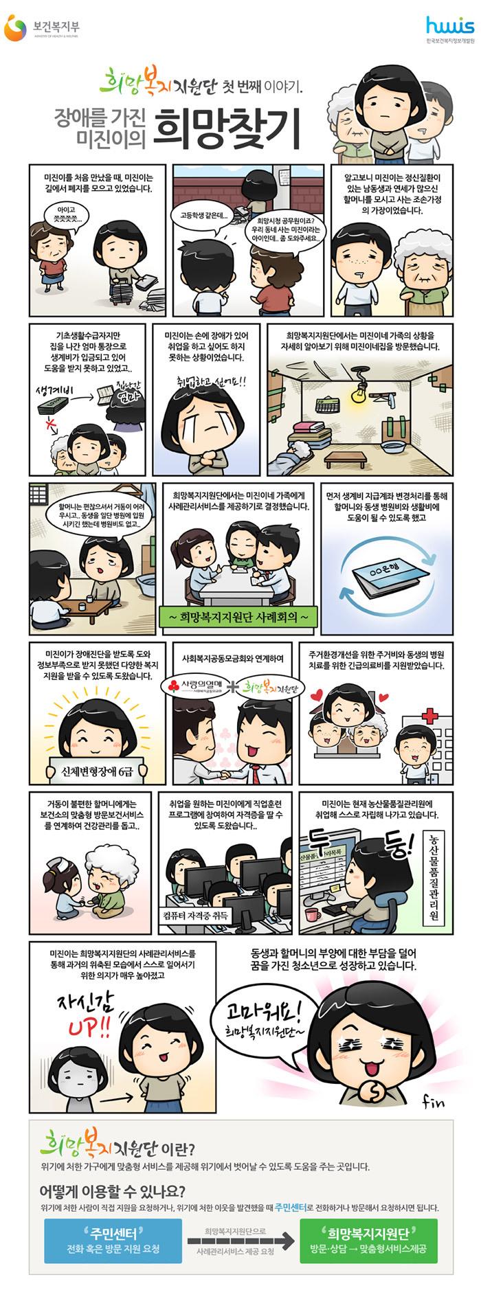 [공감복지만화]희망복지지원