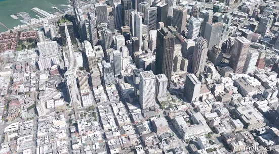 Google Earth 3D Google maps 1