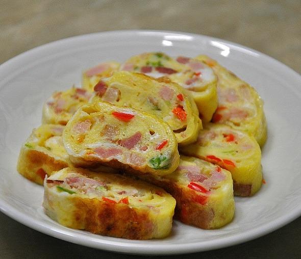 반전의맛, 쫄깃쫄깃 매콤한 삼겹살 달걀말이