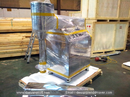 We packed all machines for softgel machine complete line for shipping to Europe