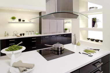 Black Gloss Kitchen Cupboard Doors