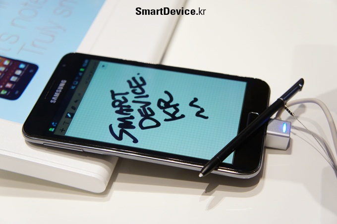 IFA 2011, 갤럭시 노트, 인터뷰, 개발자, 갤럭시, 스마트폰, 태블릿, 태블릿폰, S PEN, S Memo