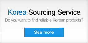 Korean products sourcing service