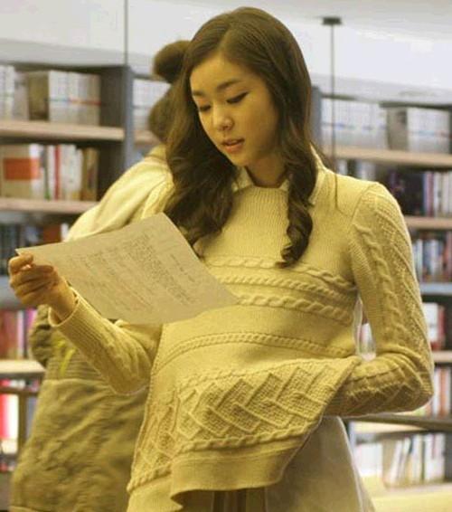 김연아, 보지 않을 수 없는 얼굴
