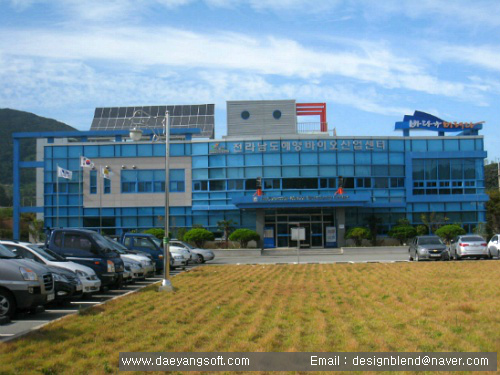 Our main client - 'Marine Bio Industry Center' established by Korean local government