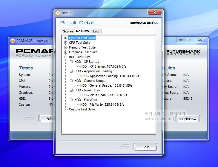 인텔 SSD 520 Series, 120GB, 7200RPM, 5400RPM, RPM, 하드디스크, SSD, 속도, 어플리케이션, IT, 비교, 벤치마크, PC MARK05, 피씨마크, 전송속도, 동영상, 사진, 노트북, S-ATA3, S-ATA2, 인텔 SSD 520 Series 120GB 와 7200 RPM HDD 어플리케이션 로딩 속도를 체크해 보는 시간을 갖도록 하겠습니다. 일반적으로 SSD는 하드디스크에 비해서 읽기 속도가 빠릅니다. 그리고 특히 차이가 나는 부분이 랜덤액세스의 속도가 더 빠릅니다. 하드디스크의 RPM이 아무리 올라가더라도 디스크가 회전하고 해더가 움직여서 데이터를 읽기 때문에 어쩔 수 없이 지연시간이 발생하는데 SSD는 그런 부분이 없기 때문이죠.  이번 테스트에서는 동일한 노트북에 7200 RPM의 노트북용 하드디스크와 인텔 SSD 520 Series 를 차례대로 연결하고 프로그램을 10개를 동시에 실행 후 모두 실행 완료되는 시간을 측정해 봤습니다. 정확한 비교를 위해서 같은 노트북에 그리고 SSD와 HDD는 서로 데이터를 복제하여 동일하게 셋팅을 해 놓았습니다.