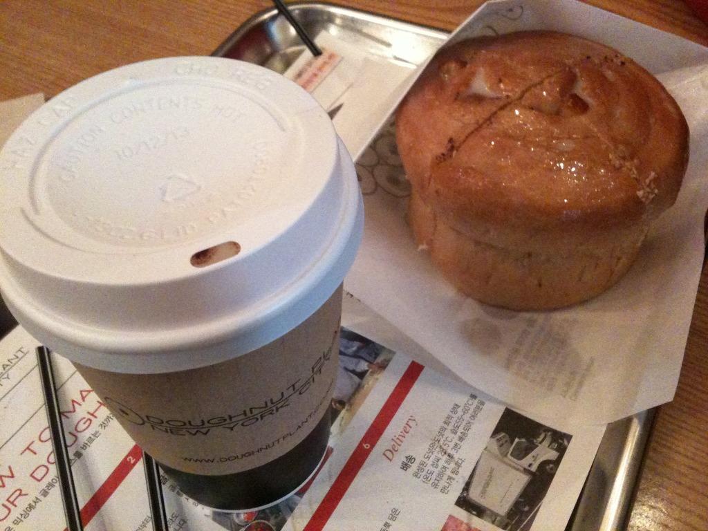 커피와 도너츠