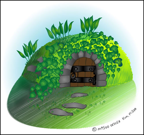 동굴형 냉장고