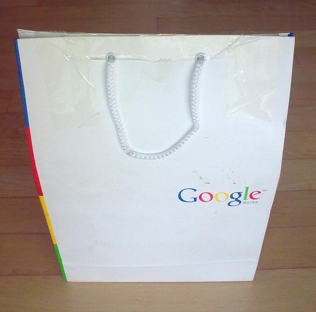 구글 애드센스로부터 받은 기념품 by Ara