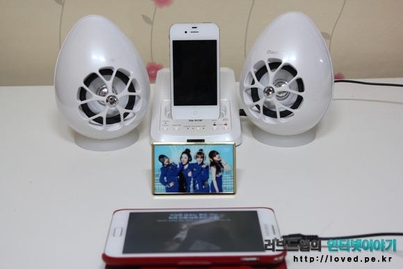아이폰 스피거 독, 올라소닉 USB 스피커 TW-D7IP 쿼드러포닉