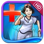 아이패드 타임매니지먼트 타이쿤 게임 Hospital Haste HD