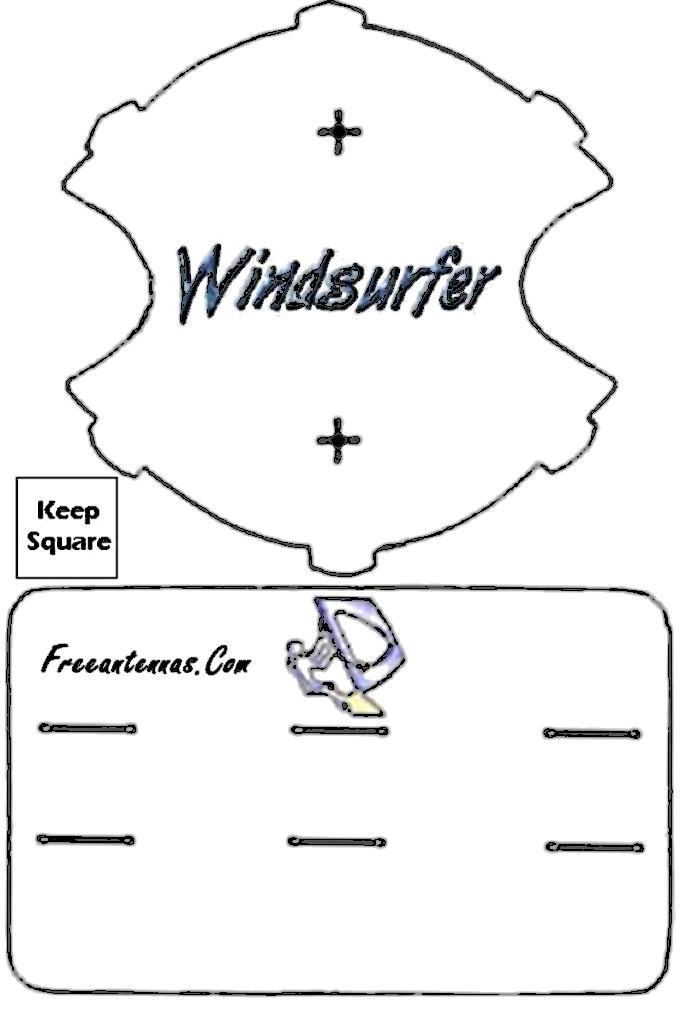 Windsurfer Reflector Template v2.0