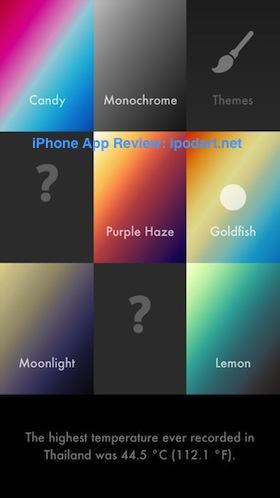 Haze 아이폰 추천 날씨 일기 예보 앱