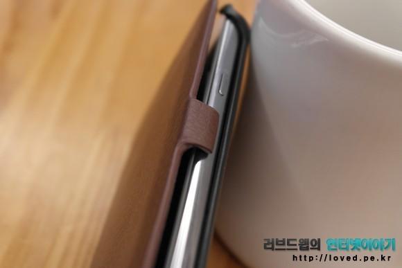 갤럭시노트2 가죽케이스 애니모드 카드 스탠드 폴리오 케이스 개선과 보안