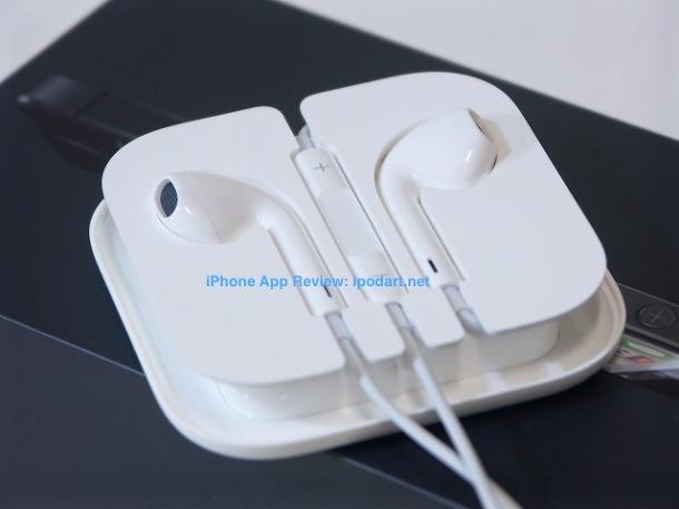 아이폰5 이어팟과 케이스