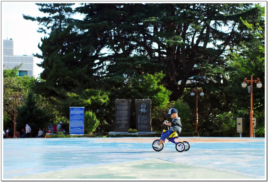 자전거타는 아이