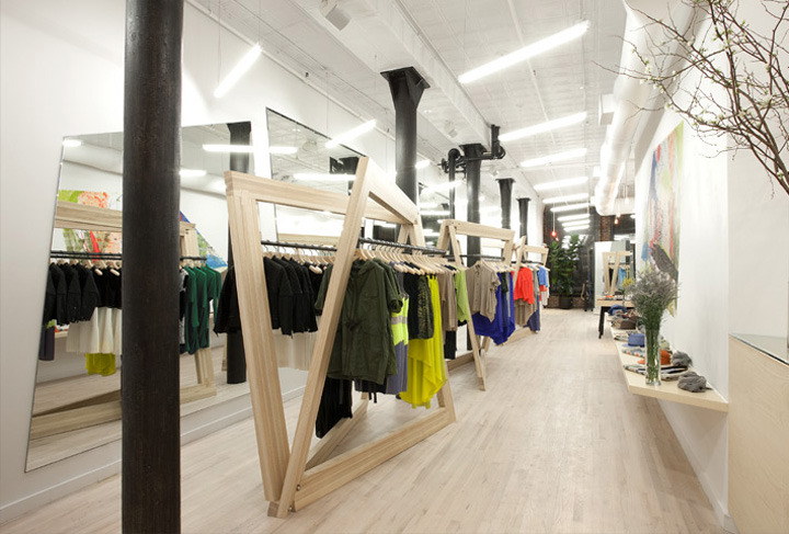 Interior exhibition vmd cut25 boutique by studio dror - Men s clothing store interior design ideas ...