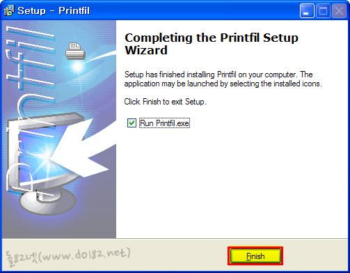 Printfil 설치과정