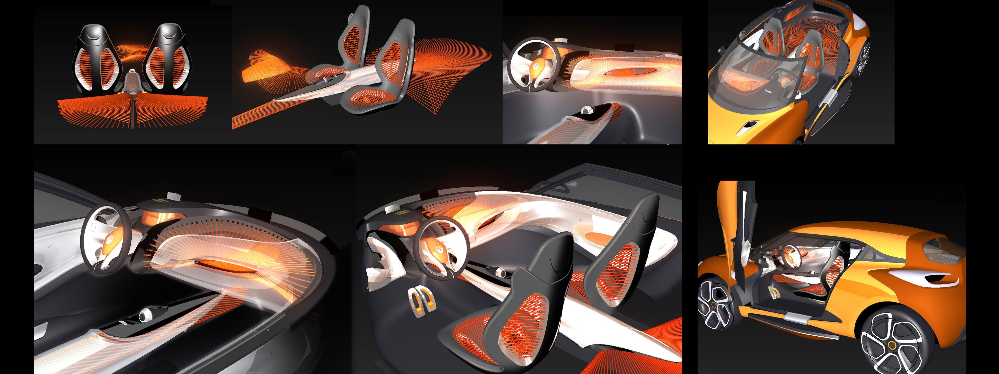 Renault Captur Concept Interior Renault Captur Concept