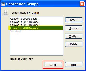 DWG Convert 2010추가