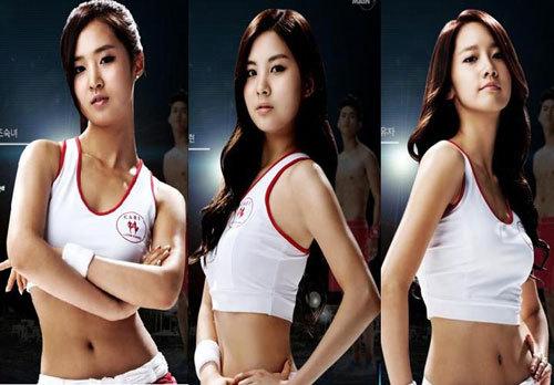 소녀시대 캐비 캐리비안 베이 티저 뮤직비디오 동영상, 역시 섹시한 유리 몸매