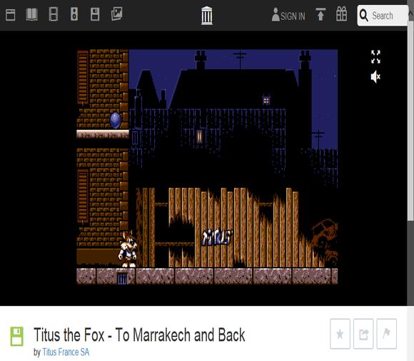 폭스 Titus the Fox
