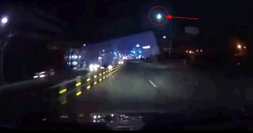 수원 운석, 블랙박스에 찍힌 동영상 2
