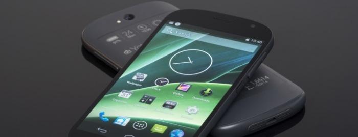 요타폰(YotaPhone) 스펙과 디자인