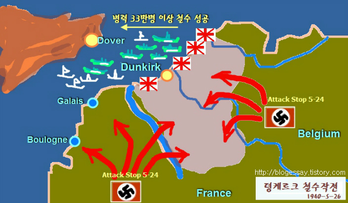 뎅케르크 전투 Battle of Dunkirk::OmnisLog