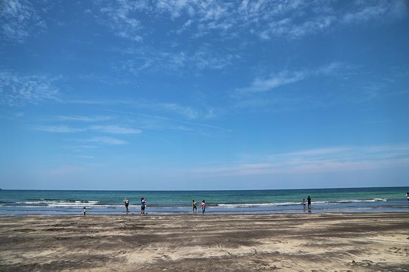 검은 백사장이 매력적인 삼양검은모래 해변(제주해변/제주여행/제주명소)