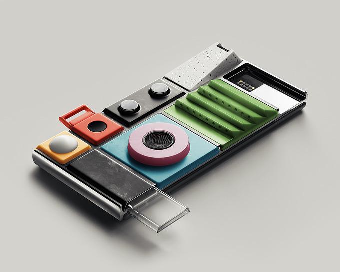 *구글 프로젝트, 커스텀 스마트폰 lapka + google project ara collaborate to create haute couture environment sensors