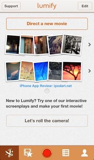 Lumify Movie Studio 아이폰 동영상 편집