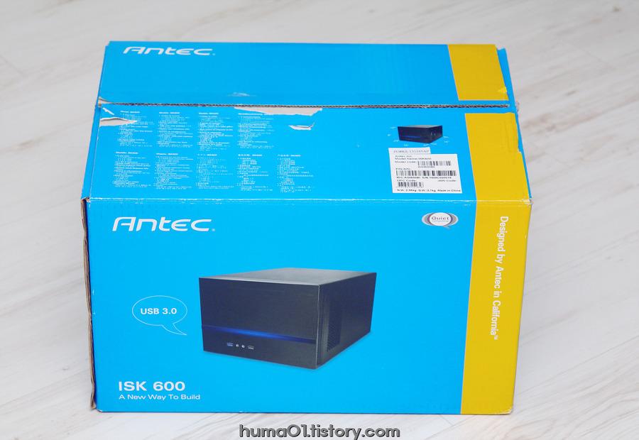 ANTEC ISK600 큐브타입 미니케이스