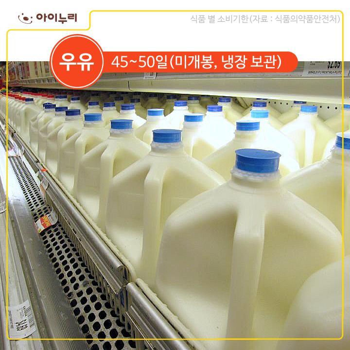 우유 식품기한