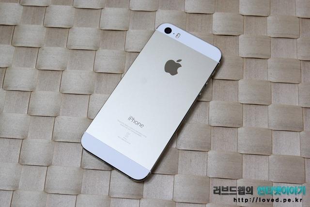 아이폰5S 골드