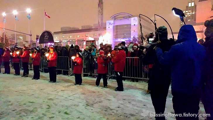 캐나다 건국 150주년 새해 이벤트 입니다