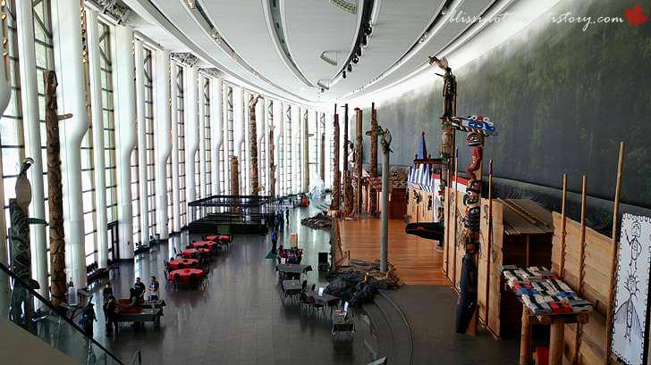 캐나다 역사 박물관 그랜드 홀입니다