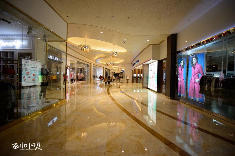 마카오 시티오브드림 쇼핑몰