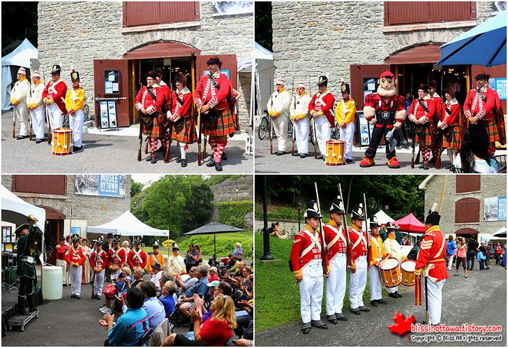유네스코 세계문화유산 캐나다 오타와 리도운하 축제 Colonel By Day