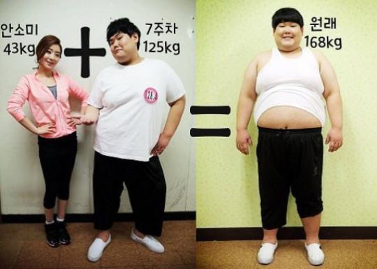 김수영 8주만에 47kg 감량, 안소미 비교샷