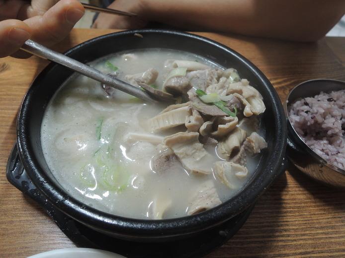 공주 산성시장맛집 시골집 순대국밥
