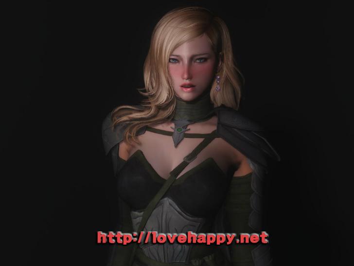 스카이림 의상 - 갑옷 의상 eso altmer armor cbbe skyrim mod 001