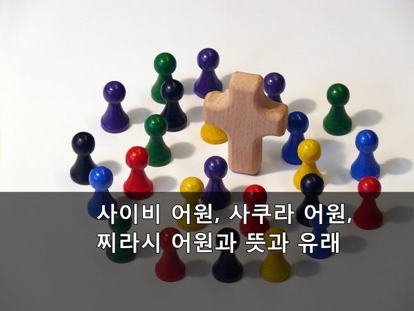 사이비 어원, 사쿠라 어원, 찌라시 어원과 뜻과 유래